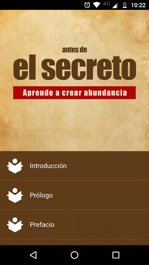 Antes de El Secreto- screenshot