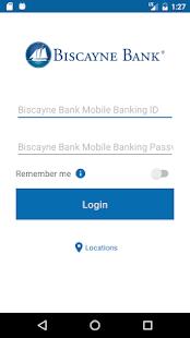 Biscayne Bank Mobile Banking - náhled