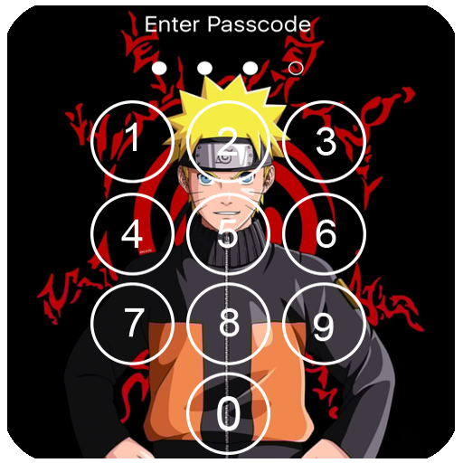 Naruto Lock Screen