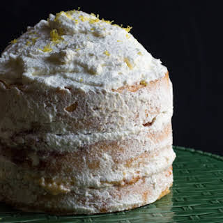 Lagkage (Danish Layer Cake).