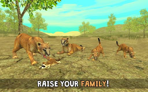Wild Cougar Sim 3D 2.0 screenshots 2
