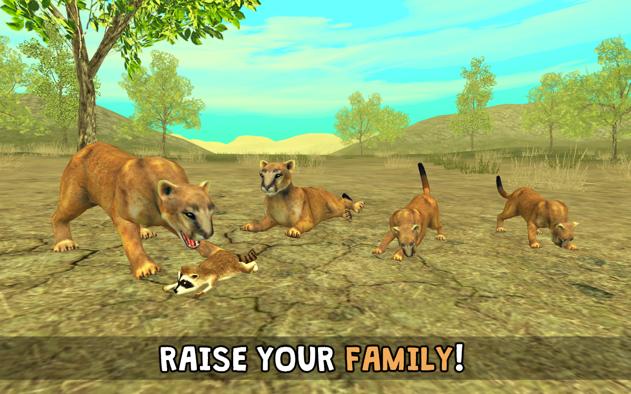 wild cougar sim 3d   android apps on google play