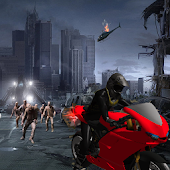 Zombie City : Motorcycle Race