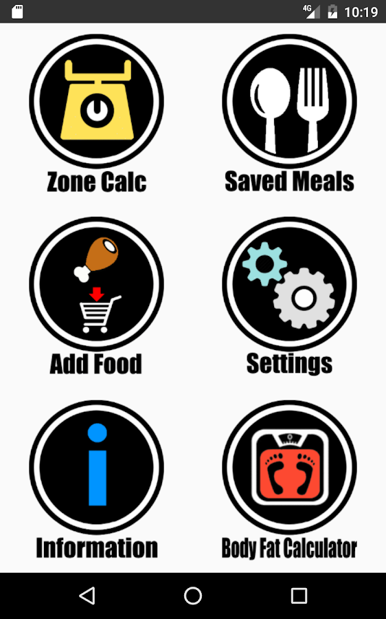 Zone Diet Pro- screenshot