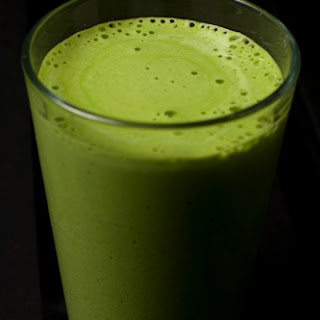 Healthy Green Coconut Smoothie