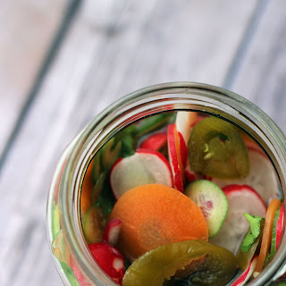 Hot Mexican Pickles