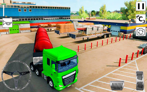 Euro Truck Simulator 3D: Top Truck Game 2020 APK MOD (Astuce) screenshots 5