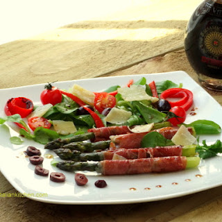 Asparagus And Parma Ham With Balsamic Vinegar