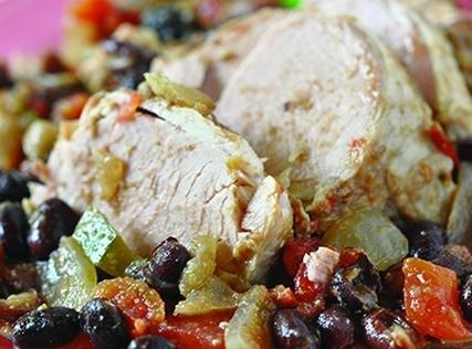 Cuban Pork And Black Beans Recipe