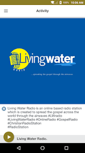 Living Water Radio. - náhled