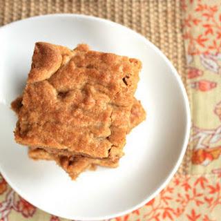 Chai Spiced Cinnamon Chip Blondies
