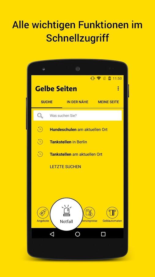 android suchen app