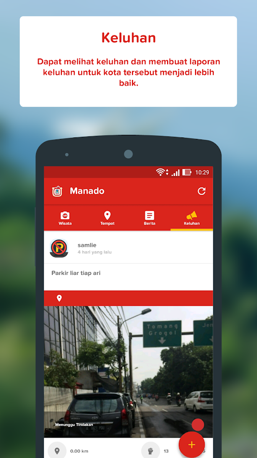 Manado Smart City- screenshot