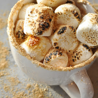 S'mores Hot Chocolate.