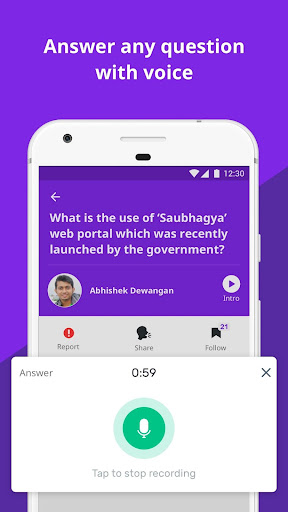 Vokal - Ask Questions, Share knowledge with India  screenshots 5