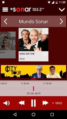Sonar FM - screenshot