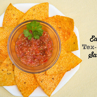 Tex-Mex Restaurant Style Salsa