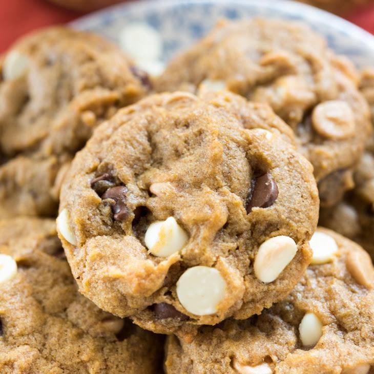 Triple Chip Pumpkin Cookies Recipe