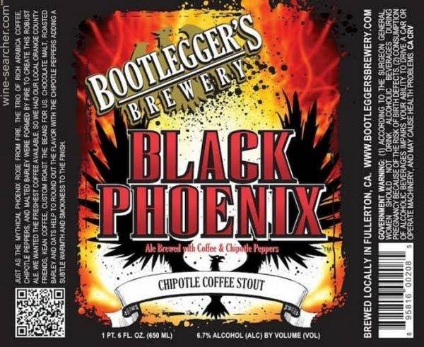 Logo of Bootlegger's Black Phoenix