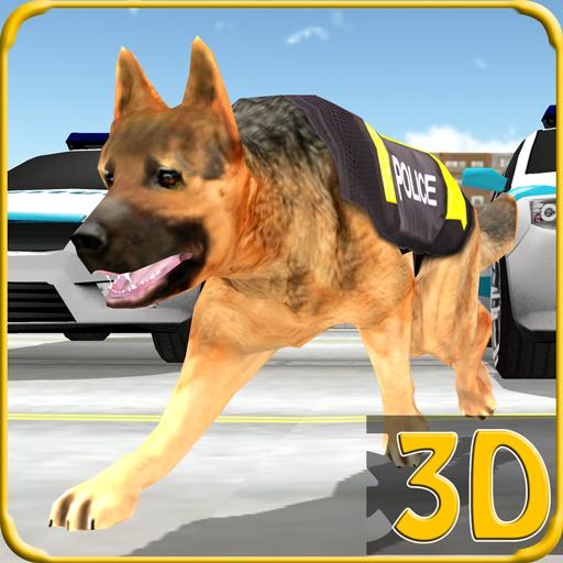 模拟のスワット警察犬チェイス犯罪3D LOGO-HotApp4Game