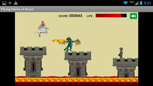 Flying Horse of Doom screenshot 0