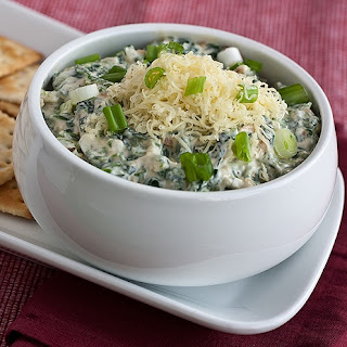 Spinach and Cheese Dip.