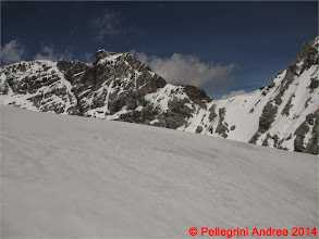 Photo: IMG_8862 spunta il Monte Zebru e il Passo di Solda