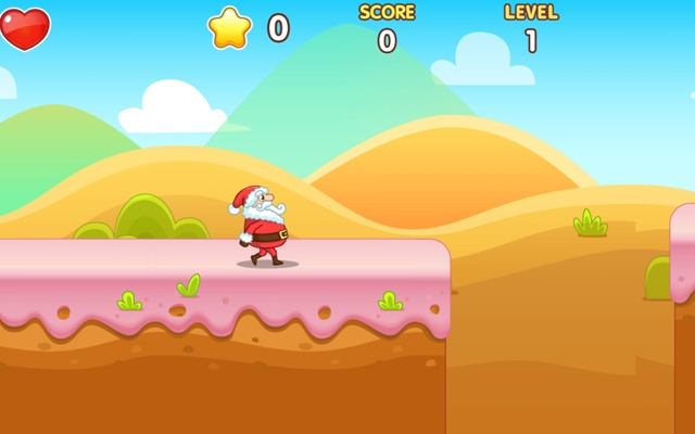 Christmas Santa Claus Rush Game