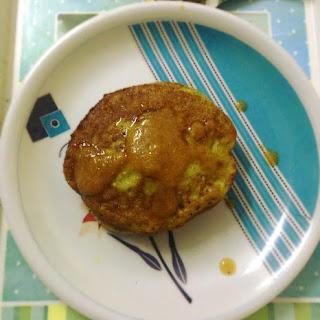 Peas Pancakes, Delicious Pancakes With Green Peas.