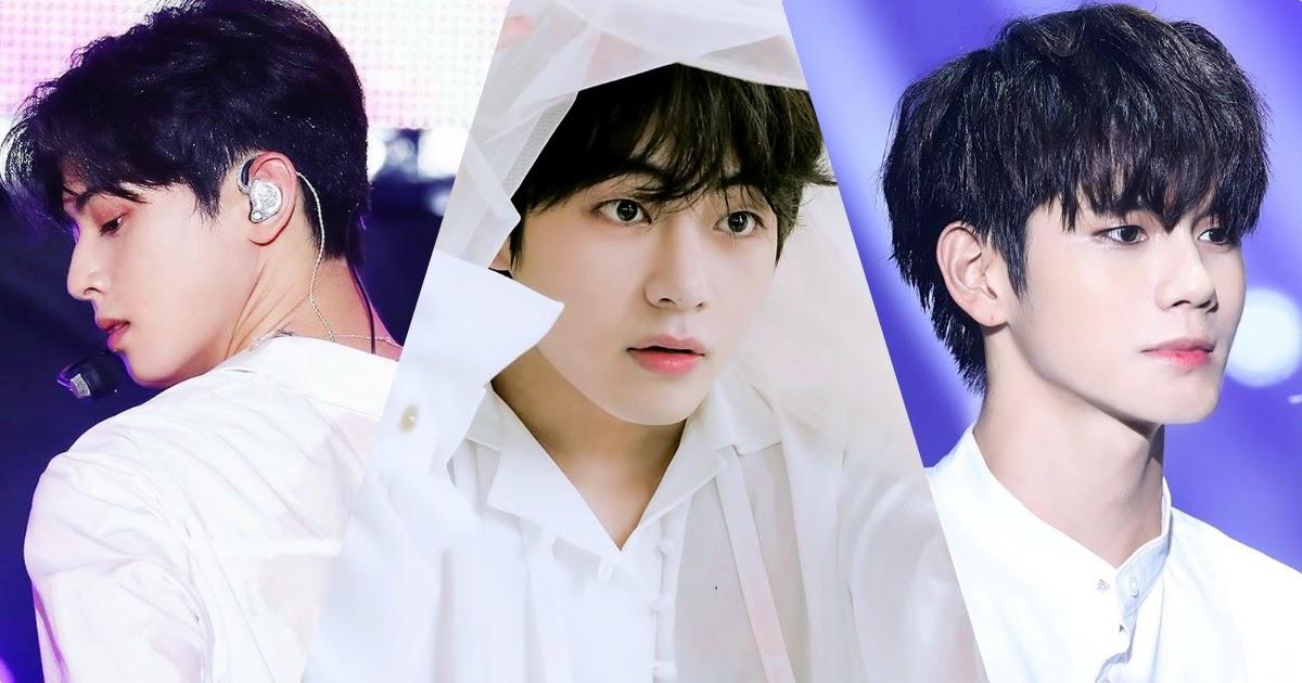 10 Male Idols Who Look Dangerously Sexy In White Dress Shirts Koreaboo
