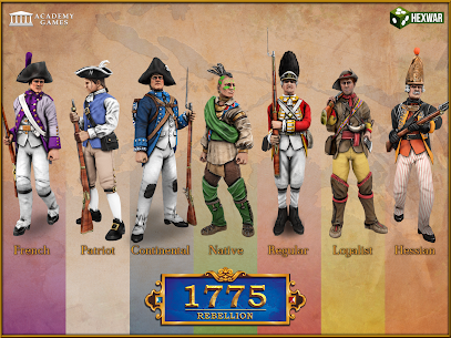 1775: Rebellion 2.9.1 MOD for Android 2
