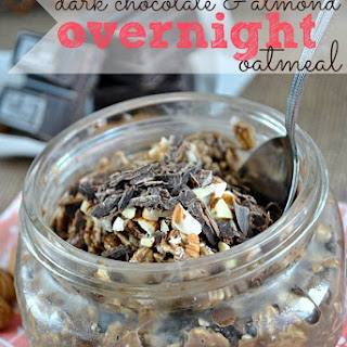Dark Chocolate & Almond Overnight Oats.