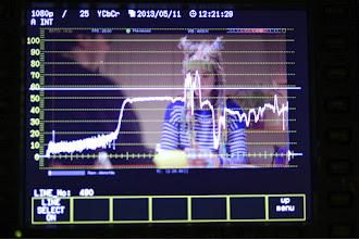 Photo: Analyse du signal avec le waveform