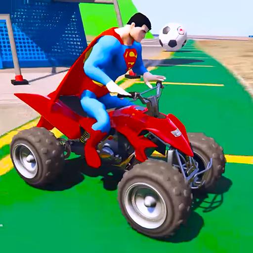 Superheroes Pro ATV (trickiest) APK indir