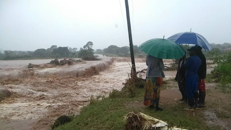 Floods caused by Cyclone Idai in Zimbabwe. Picture: TISO BLACKSTAR