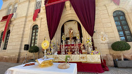 Altar efímero de Prendimiento.
