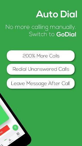 GoDial Automatic Call Dialer, CRM & Bulk Messenger screenshots 2