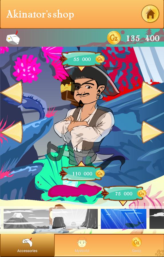 Screenshots of Akinator the Genie FREE for iPhone
