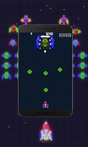 Galaxiga Retro:  Space Shooter screenshots 2