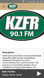 KZFR Radio- screenshot thumbnail