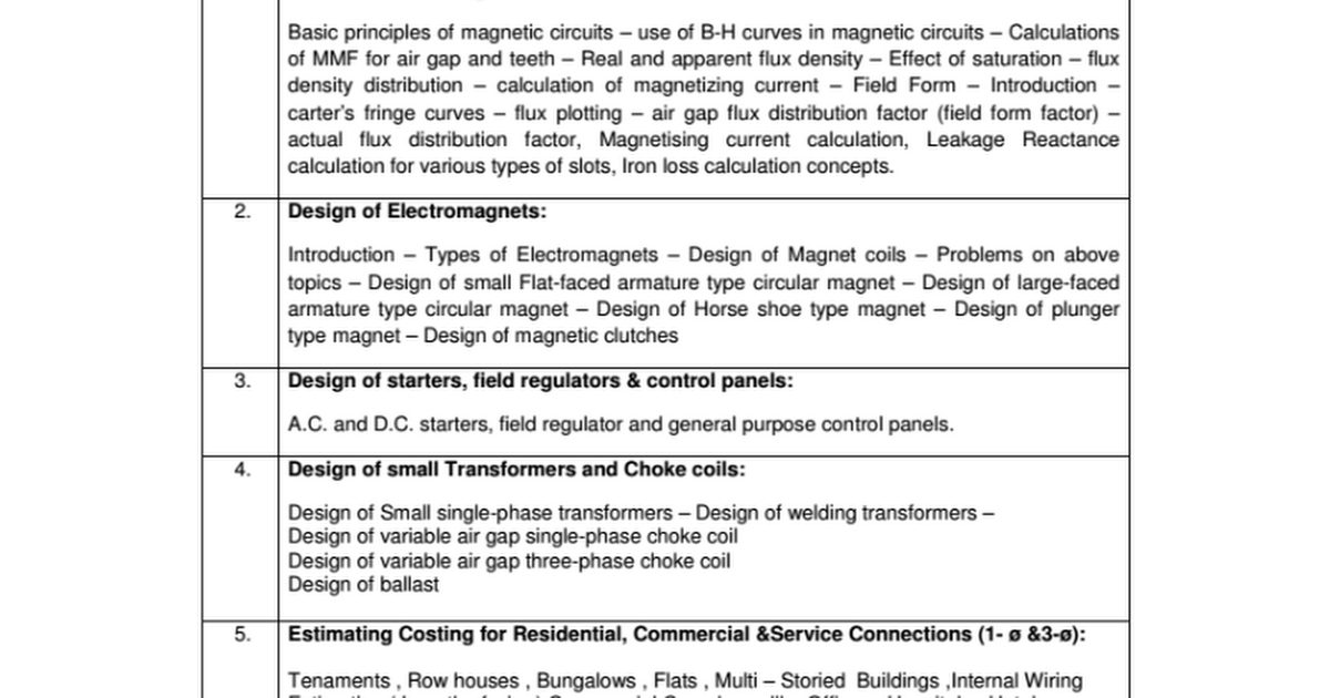 Elements of Electrical Design - Google Docs