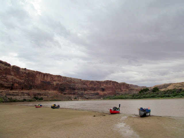 The boats at Placer Bottom