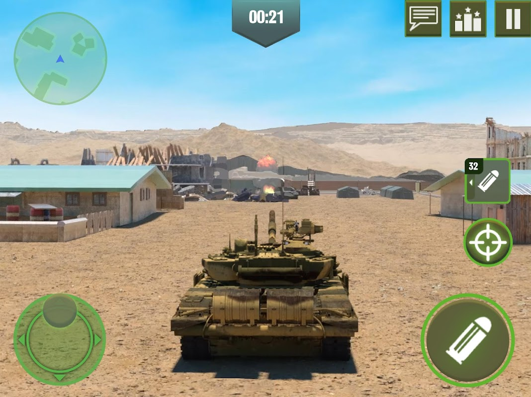 War Machines: Free Multiplayer Tank Shooting Games screenshots