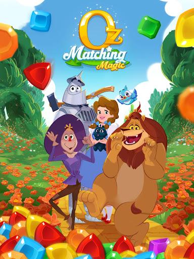 Matching Magic: Oz - Match 3 Jewel Puzzle Games screenshot 23