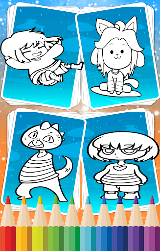 Coloring Book For Undertal Apps Apk Free Download Android PC