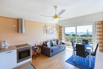Appartement meublé 3 pièces 45,69 m2