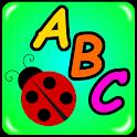 Alphabet Bugs : Fun ABC Tracing Game icon
