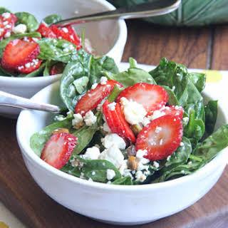 Spinach Strawberry Salad.