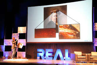 Photo: Rembrandt in 3D - Tim Zaman on Main Stage at #REAL2015