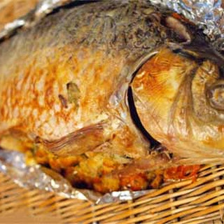 Russian Baked Stuffed Carp